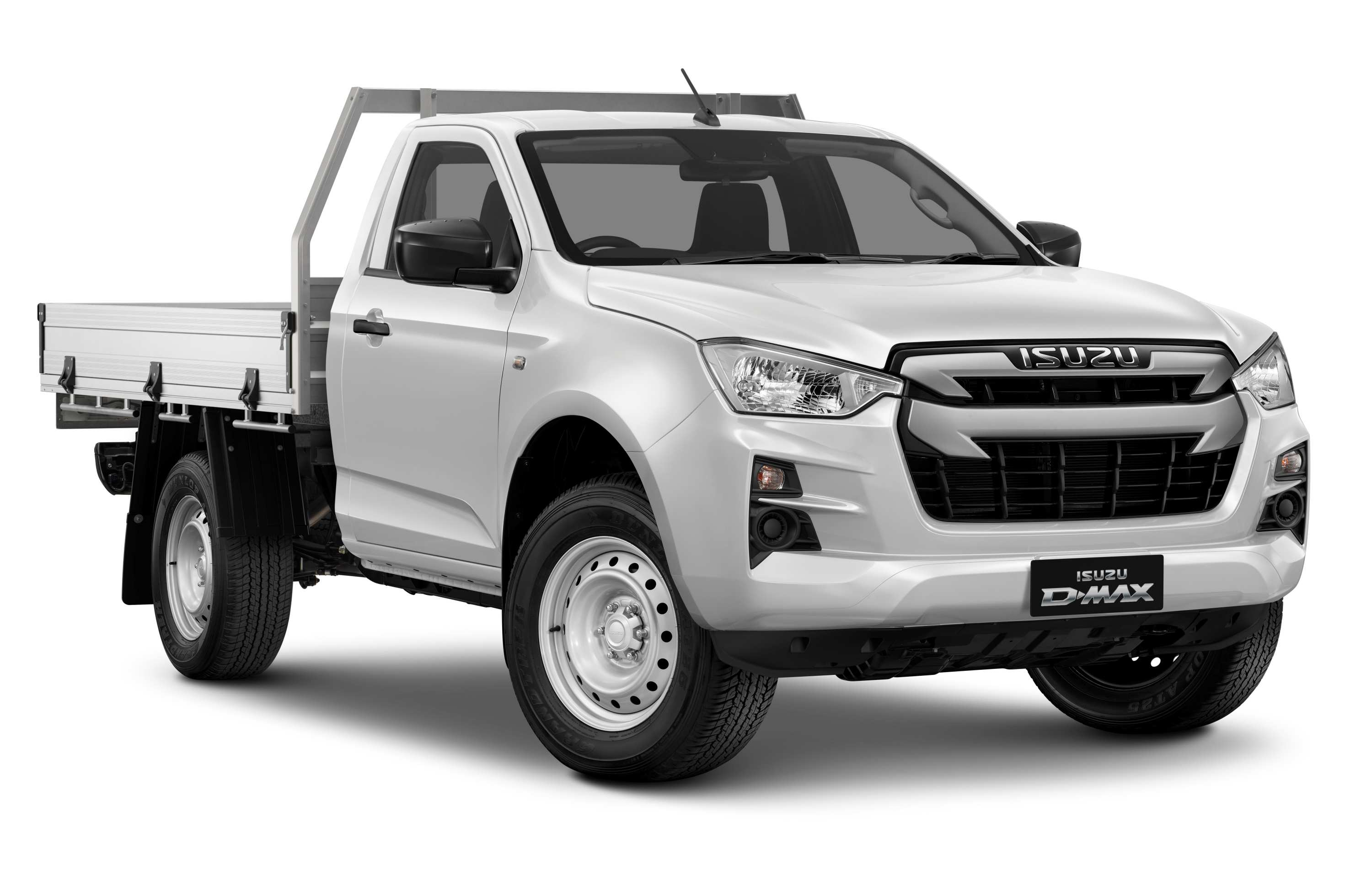 Isuzu D-MAX 21MY 4x2 SX Single Cab Chassis ECO Tray Mineral White