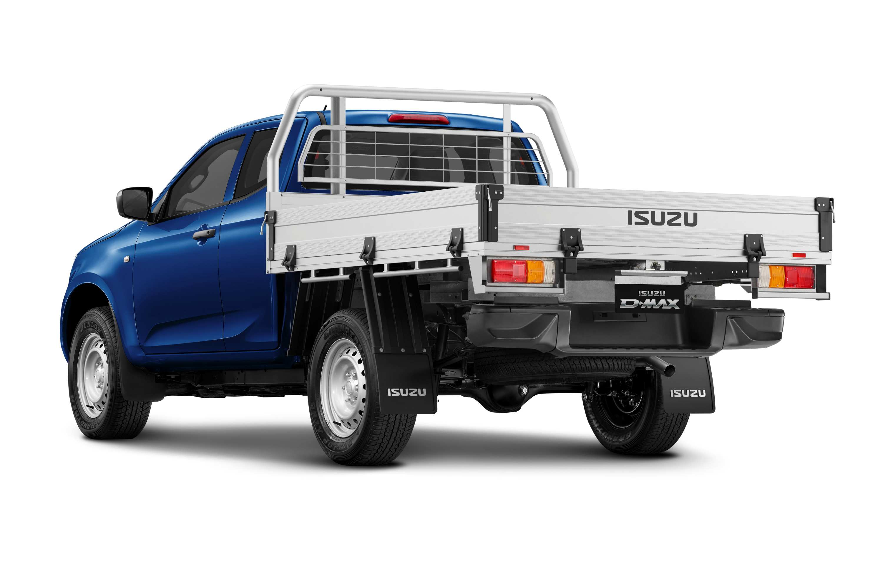 Isuzu D-MAX 21MY 4x4 Space Cab Chassis HDA Tray Cobalt Blue Mica Rear