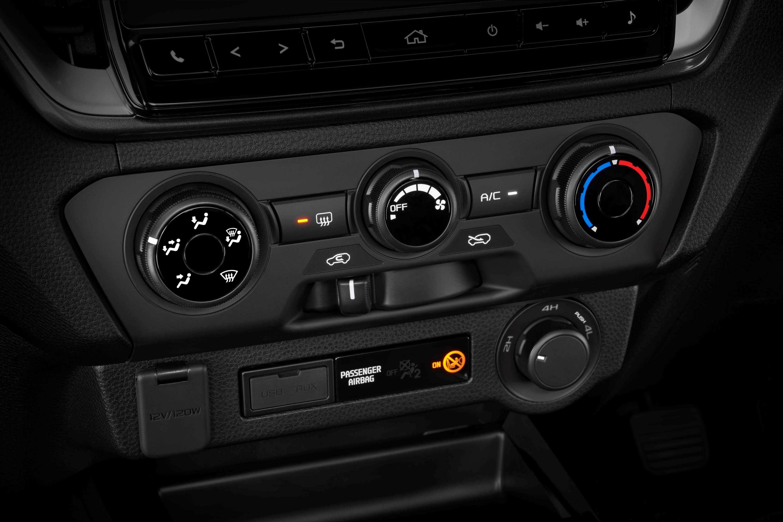 Isuzu D-MAX 21MY SX Manual AC Controls