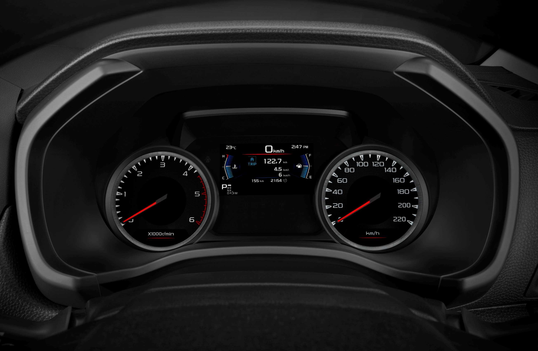 Isuzu D-MAX 21MY Smart Multi-information Display