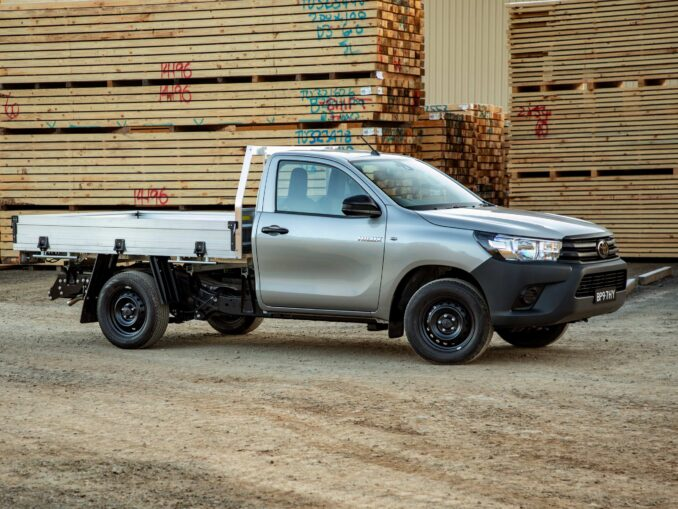 2020 Toyota HiLux SR and Workmate