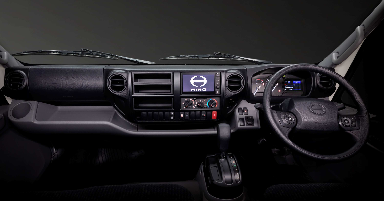 Hino 300 Series 721 interior_ 2020