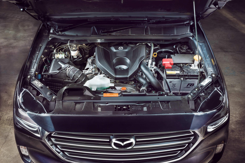 2021 BT50 THUNDER engine
