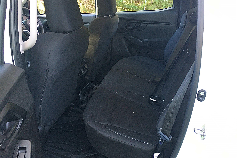 2021 Isuzu D MAX SX Crew Cab 4WD Ute rear seats