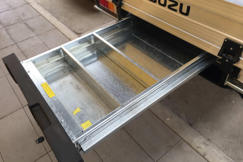 2021 Isuzu D MAX SX Crew Cab 4WD Ute slide out drawer