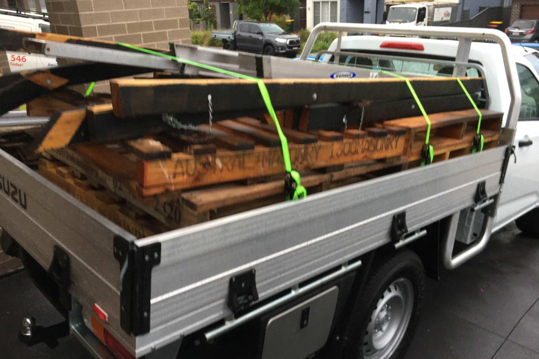 Isuzu D MAX SX Single Cab load